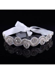 Свадебная повязка - Расшитая