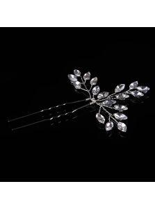 Свадебная шпилька - Кристальная веточка