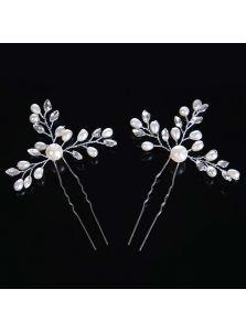 Свадебные шпильки - С хрусталем