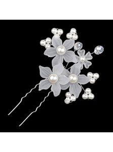 Свадебные шпильки - С цветами