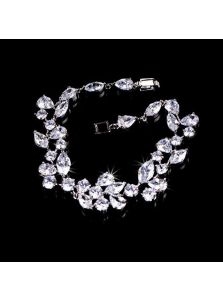 Свадебный браслет - Кристальная ветка