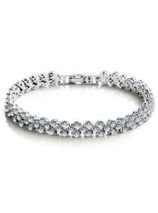 Свадебный браслет - С камушками