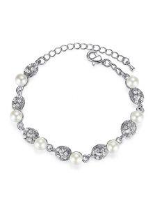 Свадебный браслет - Жемчужная леди