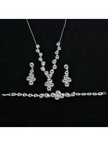 Свадебный гарнитур - Каменный павлин