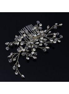 Свадебный гребень - Кристальный