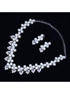 Свадебный набор - Переплет жемчуга