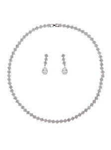 Свадебный набор - Ромб из кристаллов