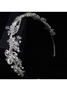 Свадебный ободок - Хрустальная экспозиция