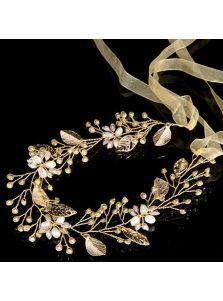 Свадебный венок - Кристаллический