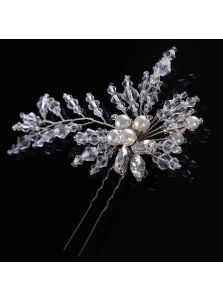 Свадебные шпильки - Хрустальный хвост