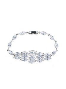 Вечерний браслет - Кристальный ромб
