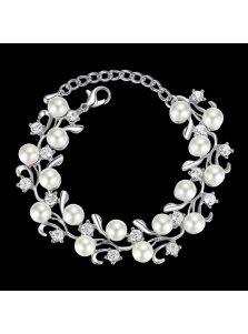 Вечерний браслет - Россыпь жемчуга