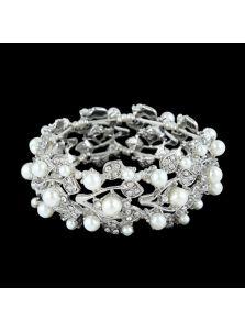 Вечерний браслет - Жемчужная лоза