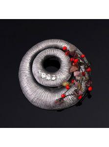 Винтажная брошь - Поле чудес