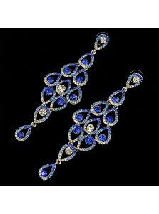 Висячие серьги - Кристаллы