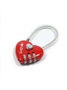 Замок для влюбленных - Красное сердце