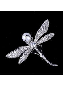 Женская брошь - Блистательная стрекоза