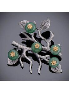 Женская брошь - Драконово дерево