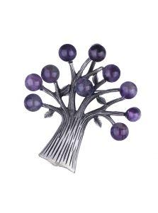 Женская брошь - Сказочное дерево