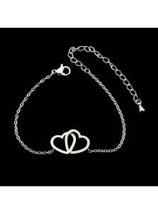Женский браслет - Нежные сердца