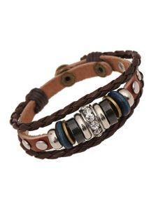 Женский кожаный браслет - Обаятельный