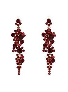 Женские серьги - Виноградные