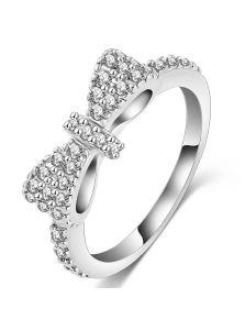 Женское кольцо - Бант