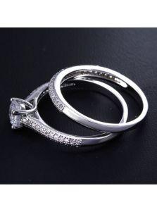 Женское кольцо - Двойное