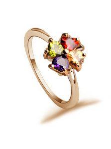 Женское кольцо - Клевер