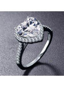 Женское кольцо - Нежное сердце