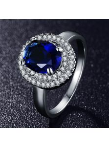 Женское кольцо - Объемный овал
