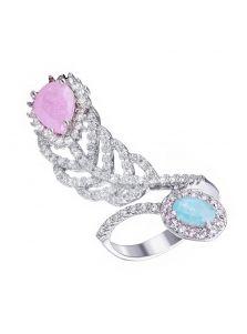 Женское кольцо - Перышко