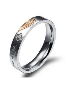 Женское кольцо - Половинка сердца