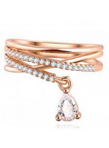 Женское кольцо - С подвеской