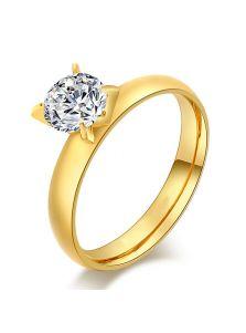 Женское кольцо - С засечками
