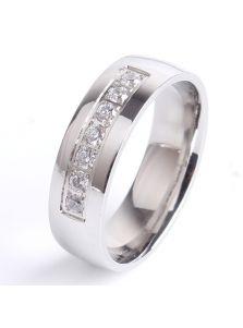 Женское кольцо - Стальное