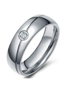 Женское кольцо - Строгое