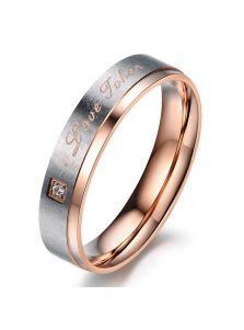 Женское кольцо - Знак любви