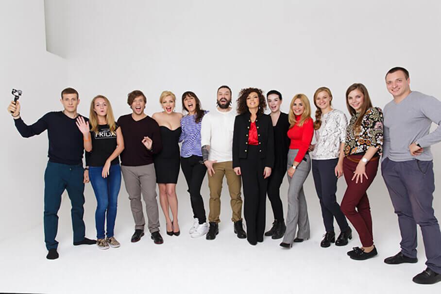 Съемочная команда группы БандЭрос