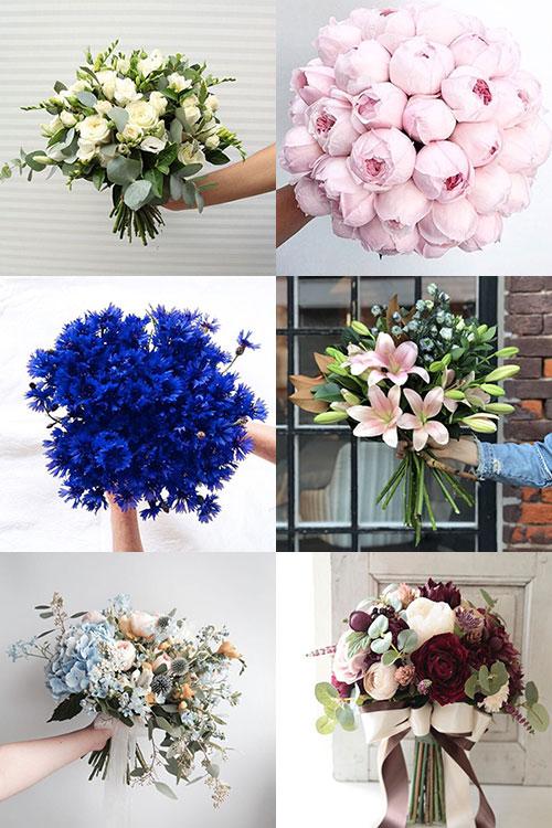 Используемые цветы в свадебных венках: розы, астры, фрезии, ромашки, лаванда и другие