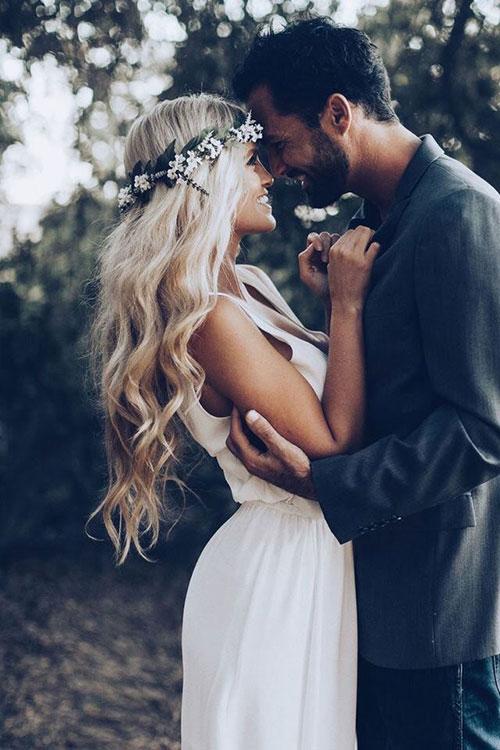 Свадебный венок - это самый женственный свадебный аксессуар