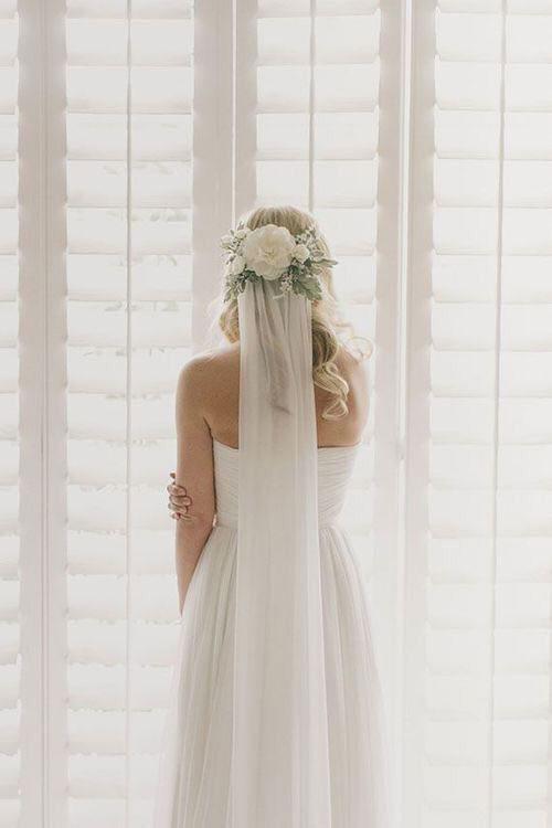 Свадебная прическа в стиле Шебби Шик
