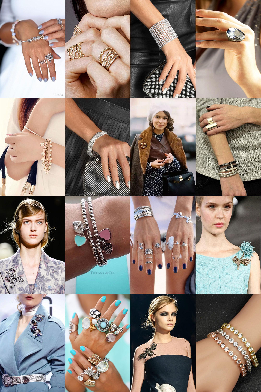 Кольца, броши, браслеты под платье