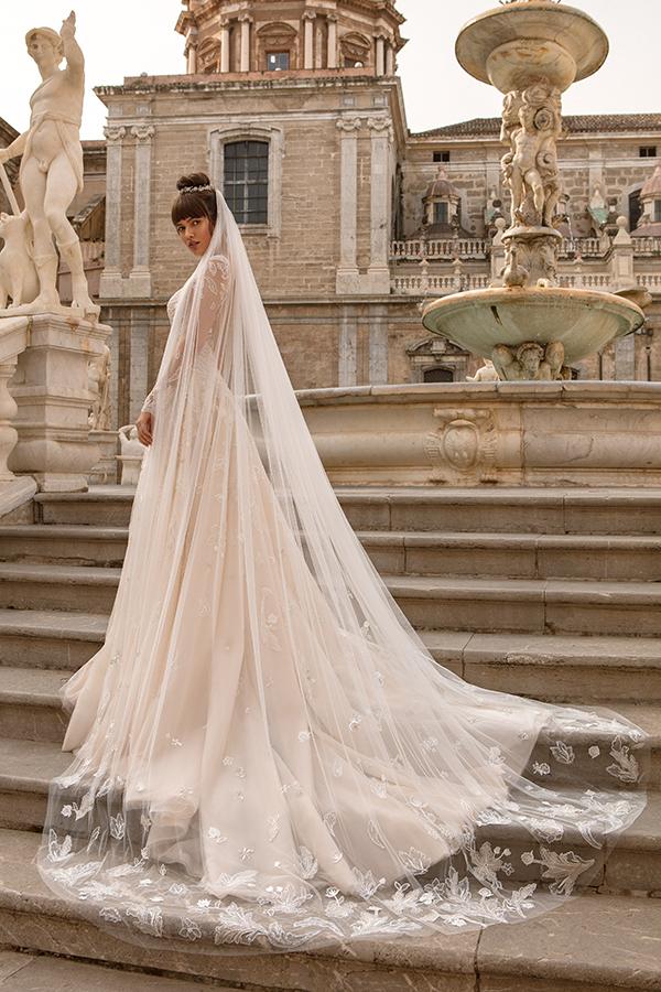 Свадебный образ с нежным венком