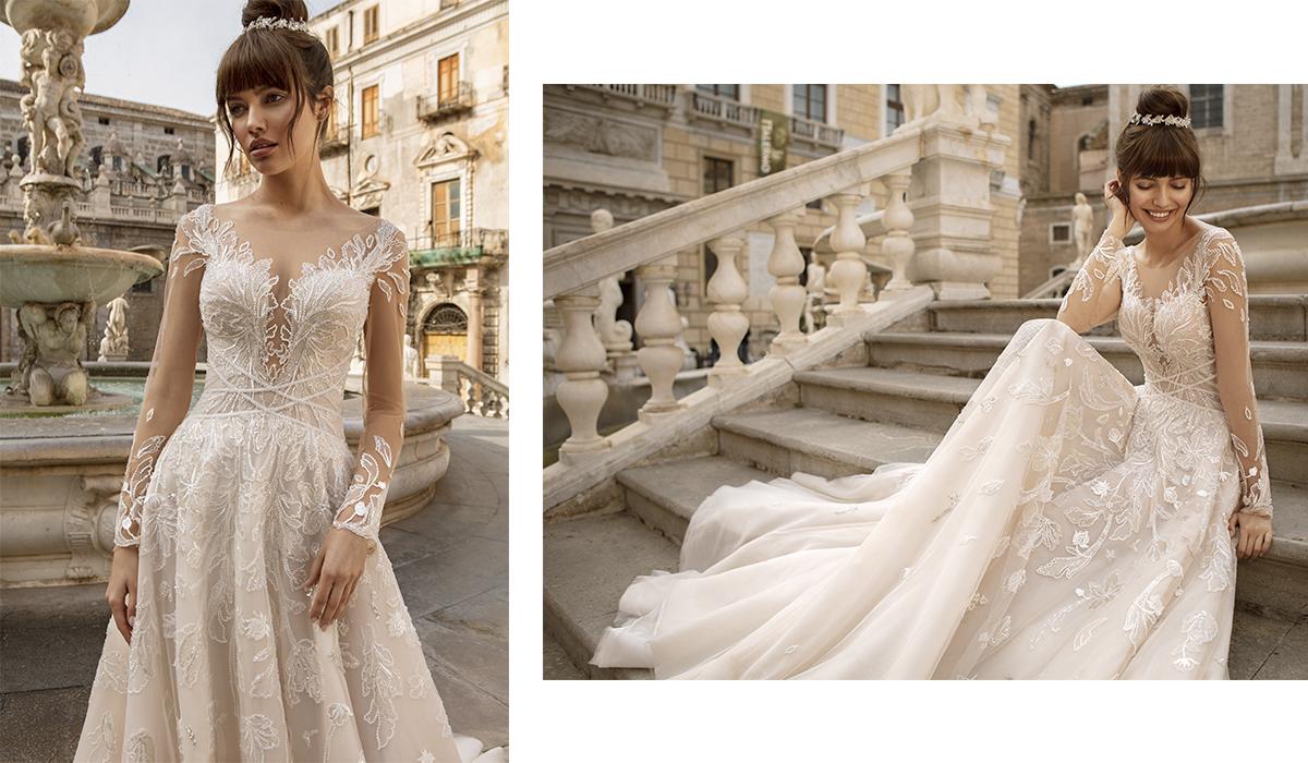 Волшебная съёмка свадебного образа с украшениями DiaDemaGrand